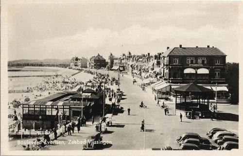 Boulevard Evertsen Vlissingen 1934