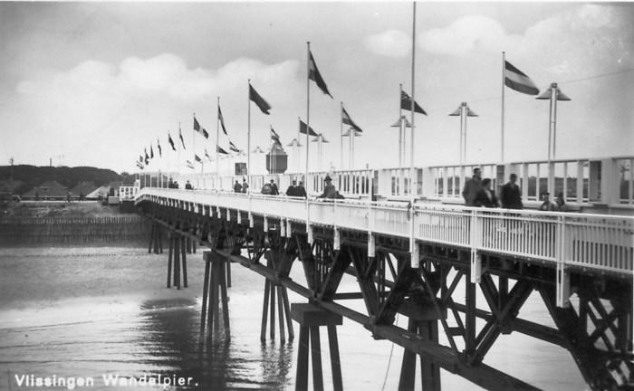 De Wandelpier van Vlissingen 1936