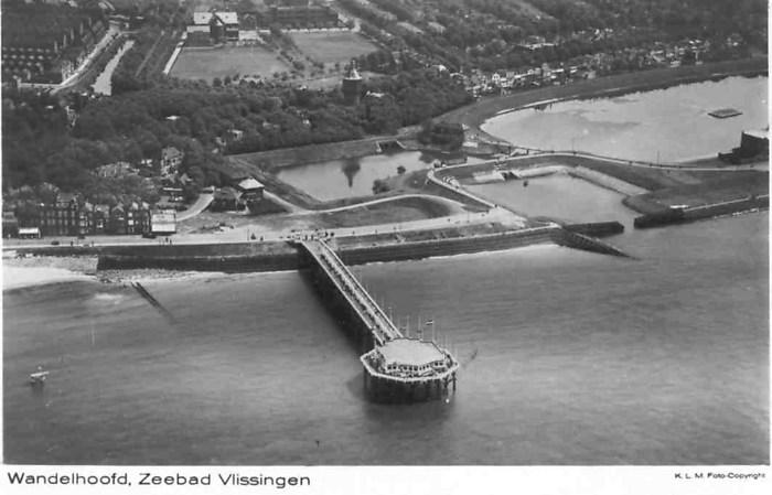 Luchtfoto Wandelpier Vlissingen